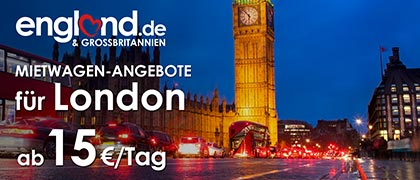 Mietwagen in London