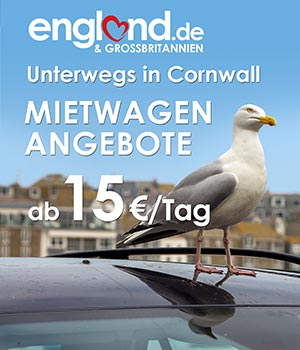 Mietwagen in Cornwall