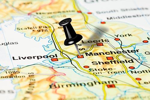 Mit Einer Landkarte Fur England Bestens Vorbereitet