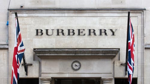 Burberry Store in London