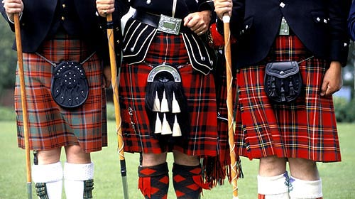Der Schottenrock - The Scottish Kilt