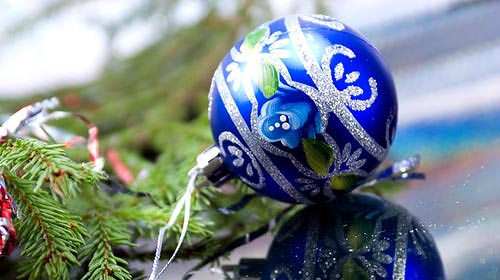 Weihnachtsbaum England.Weihnachtsessen In England